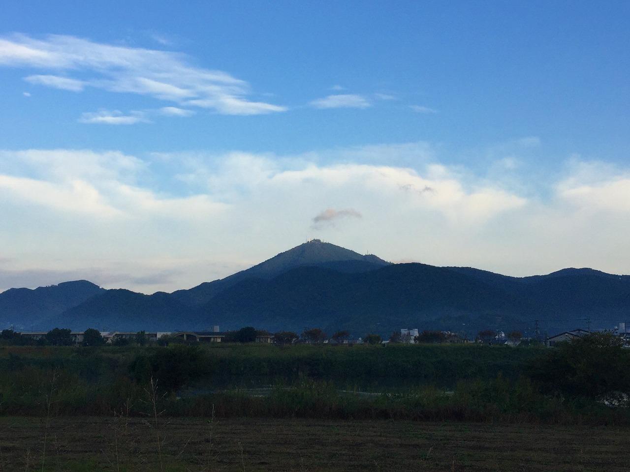 今朝の金峰山 2016.11.1