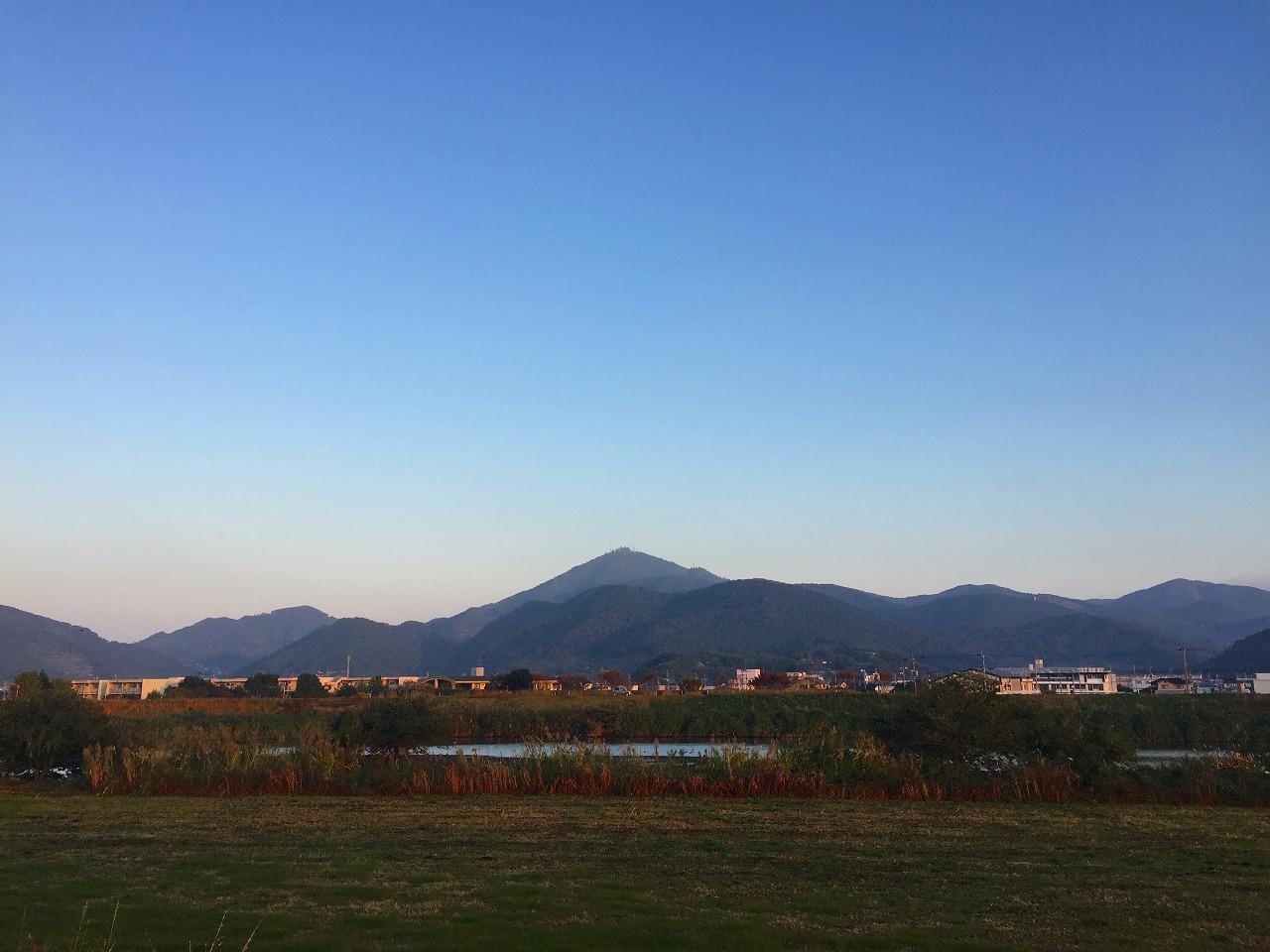 今朝の金峰山 2016.11.9