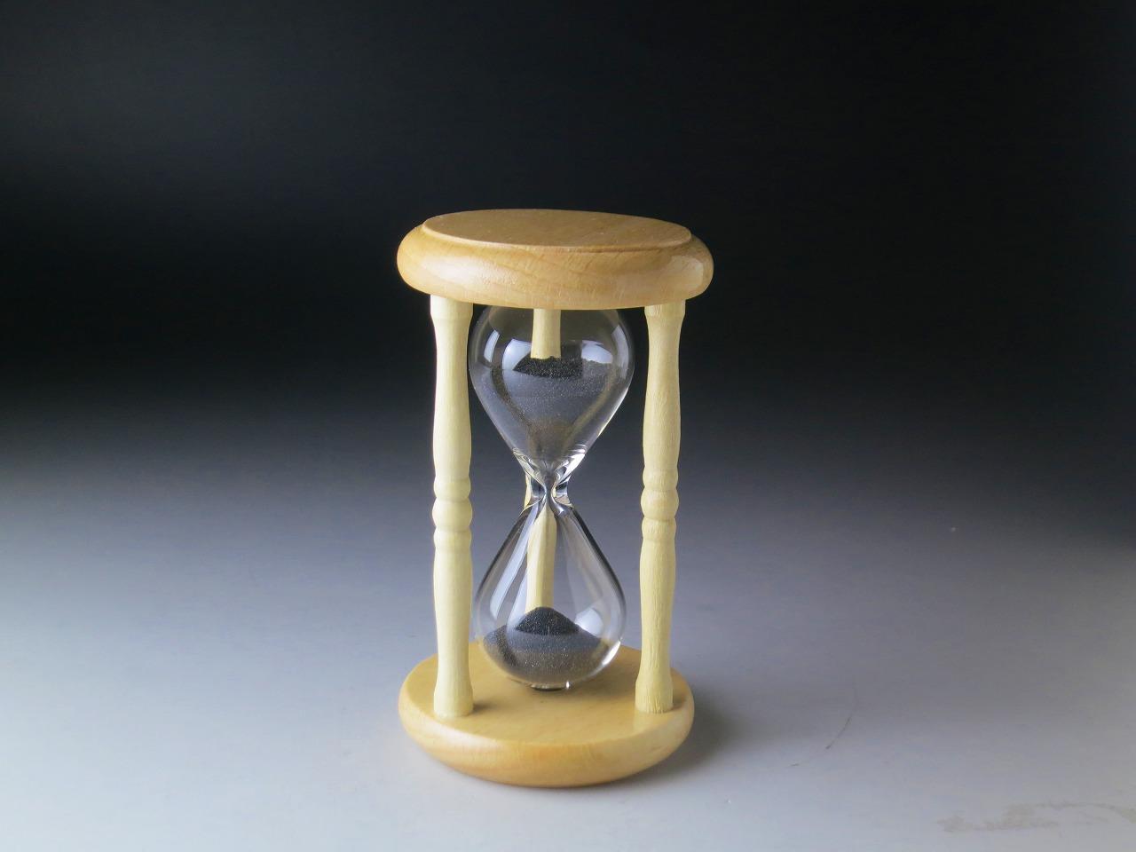 砂時計4分計