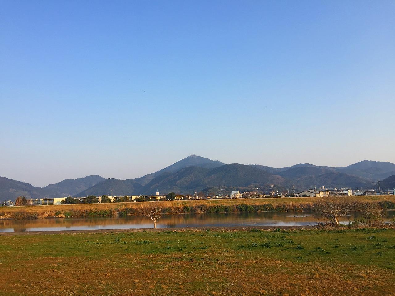 今朝の金峰山です。熊本です。