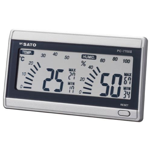 デジタル温湿度計 ルームナビ PC-7700II