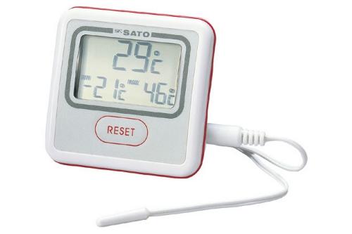 冷蔵庫用温度計 PC-3300  <はかりや>