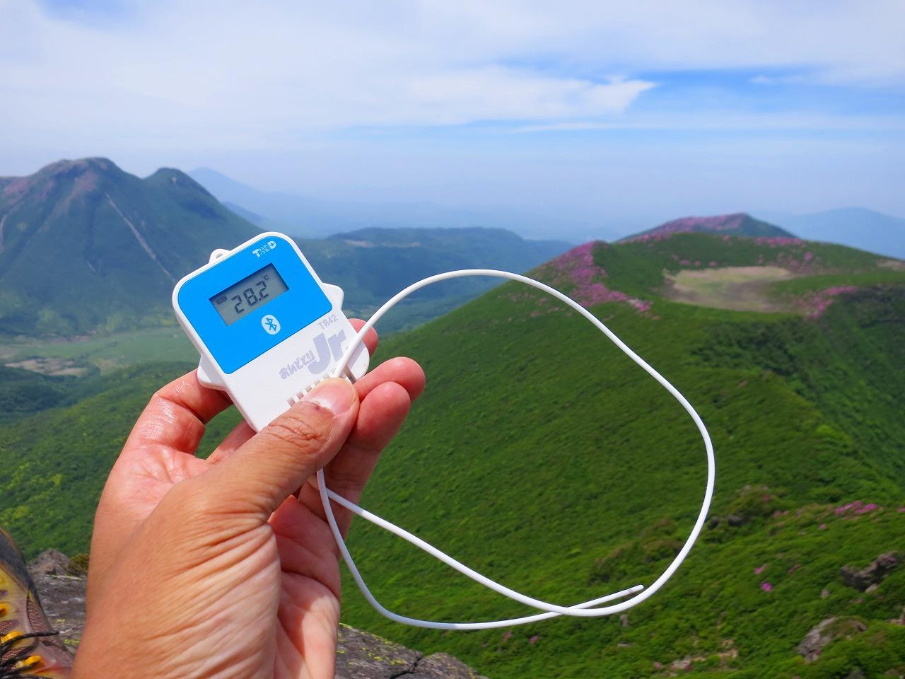 TR42 Bluetooth対応 温度データロガー