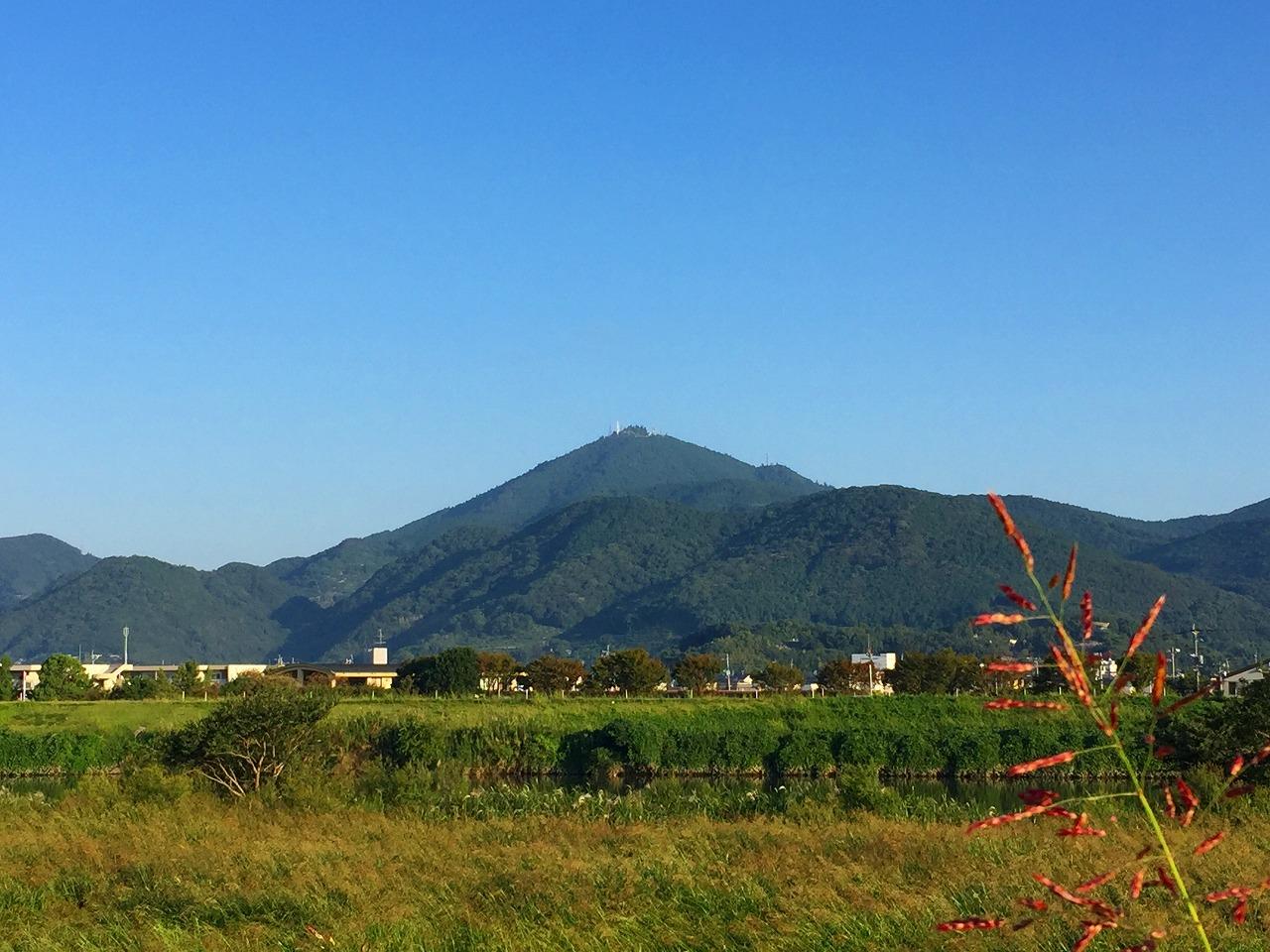 今朝の金峰山です!
