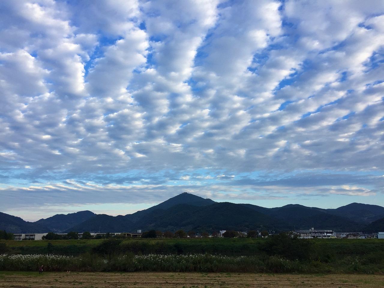金峰山 秋の雲