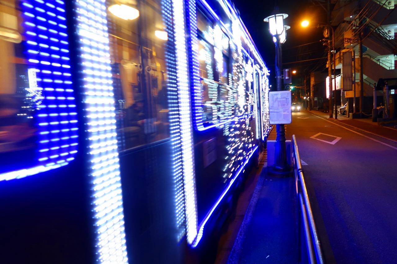 イルミネーション電車 熊本市電