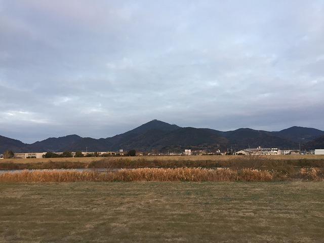 今朝の金峰山