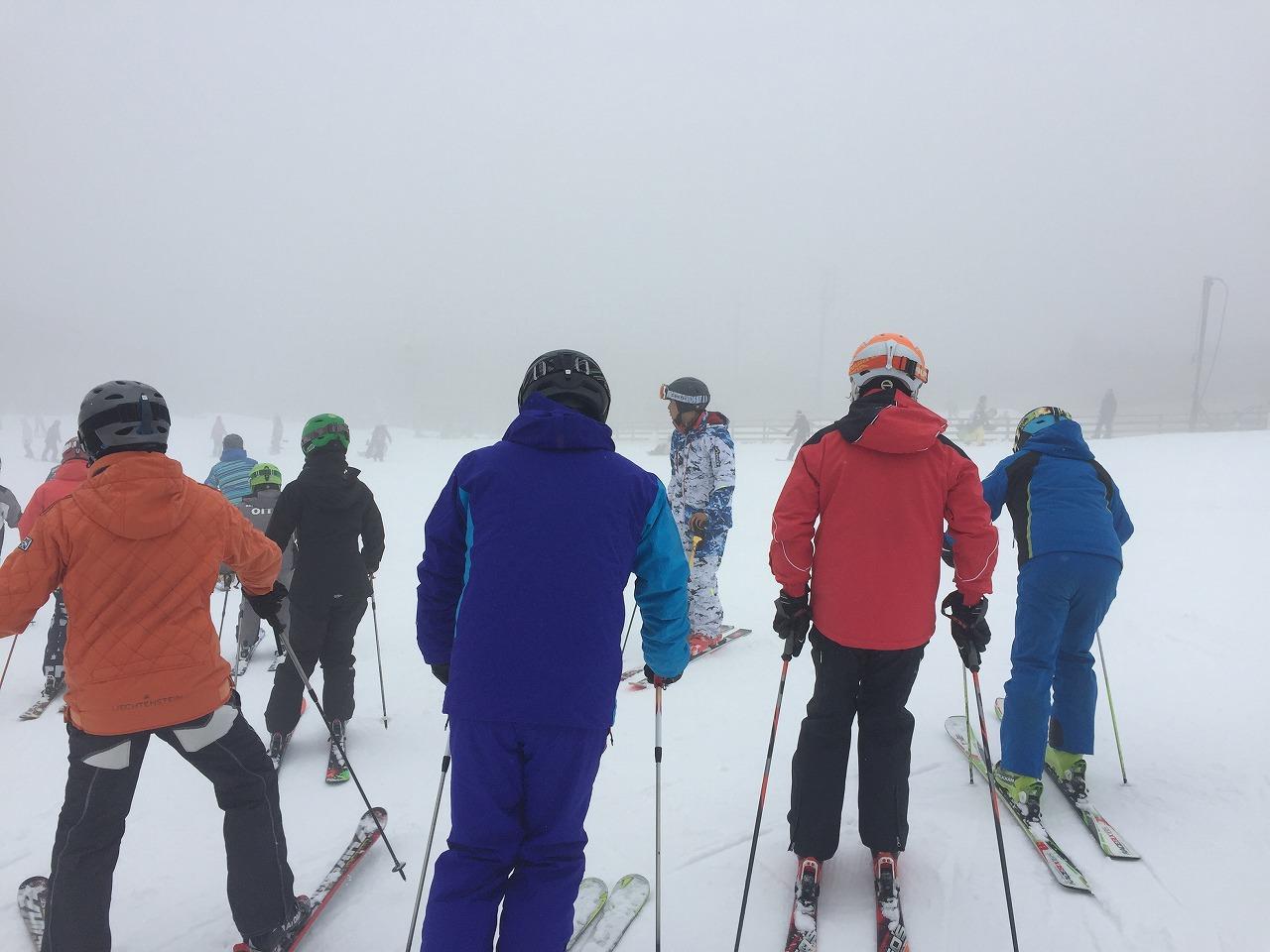 スキー指導者研修会 九重
