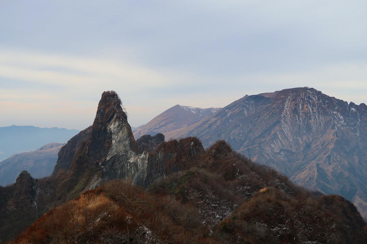 2017年12月の根子岳