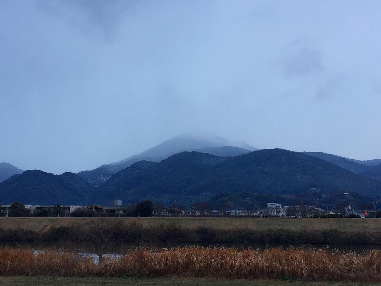 今朝の金峰山です。