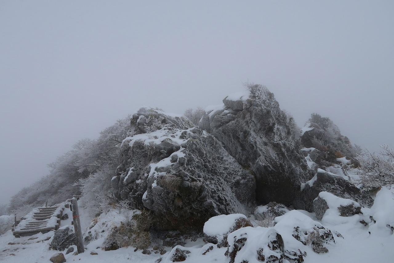 雪のくじゅう 2018