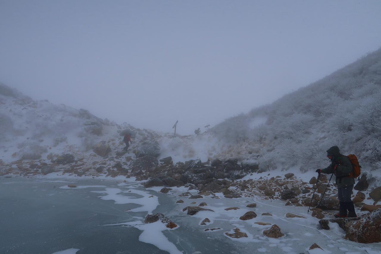 くじゅう 氷結御池