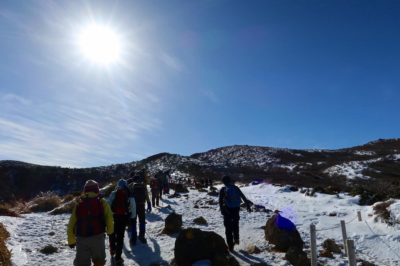 雪のくじゅうは、大人気