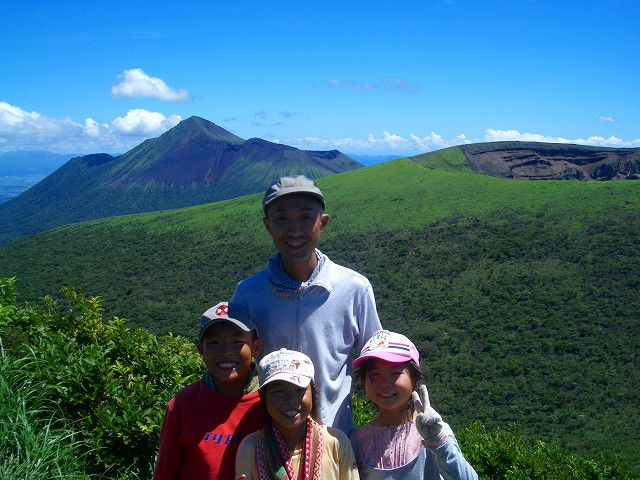 霧島縦走2008年 新燃岳 高千穂峰