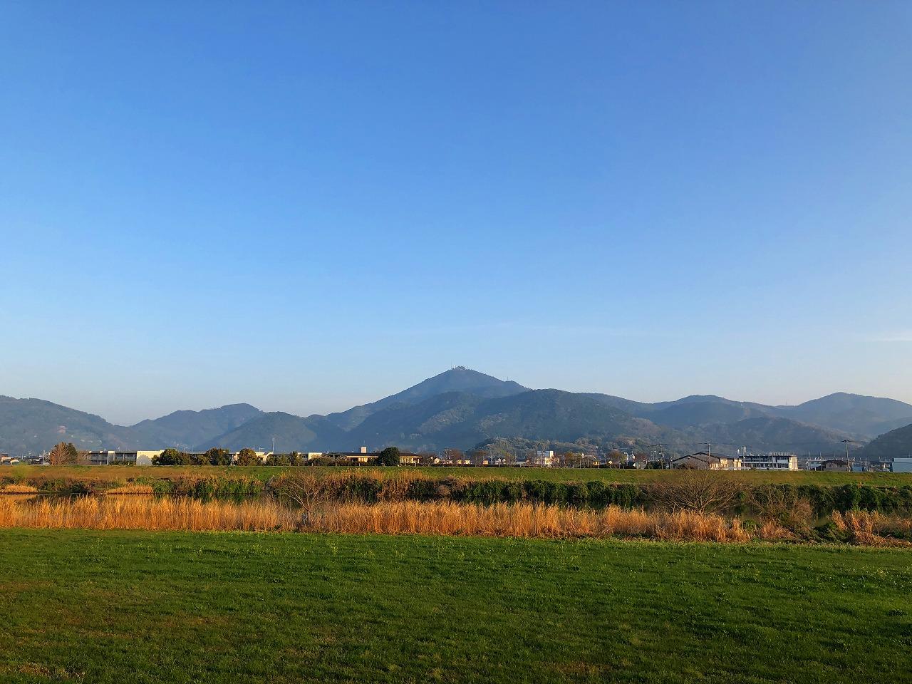 2018.3.29 今朝の金峰山です。