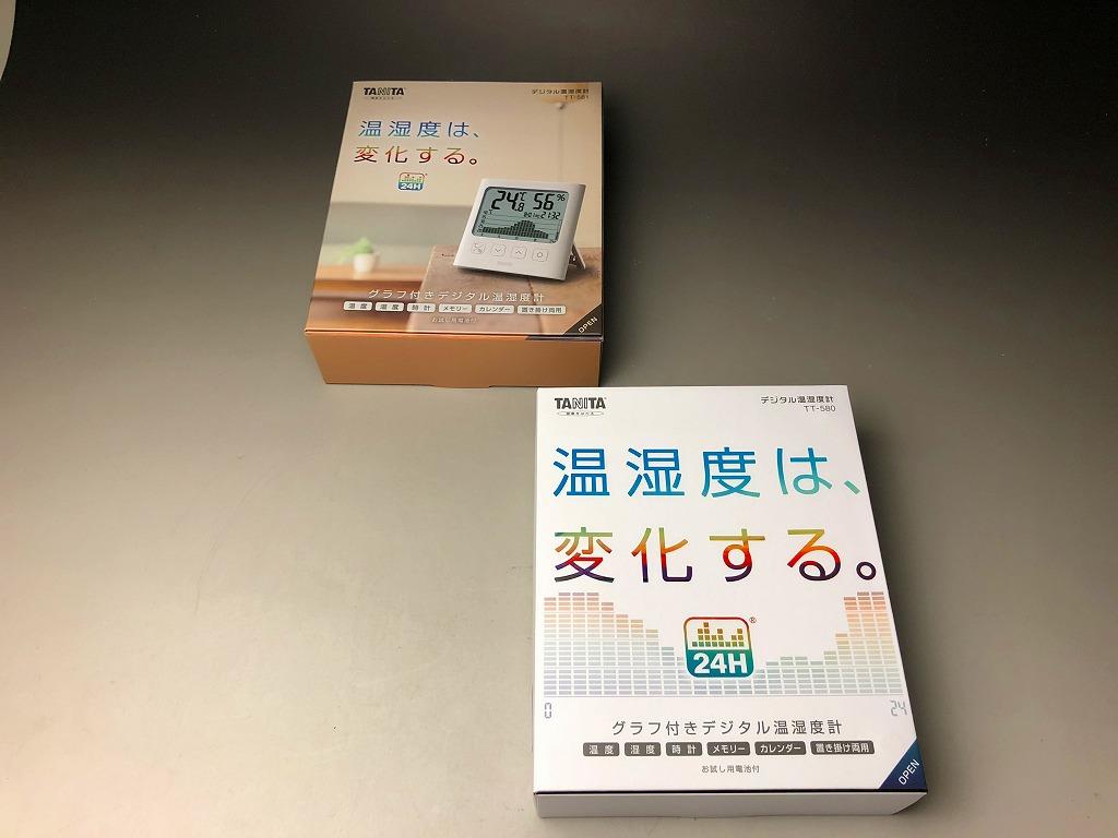 TT-580,TT-581の箱