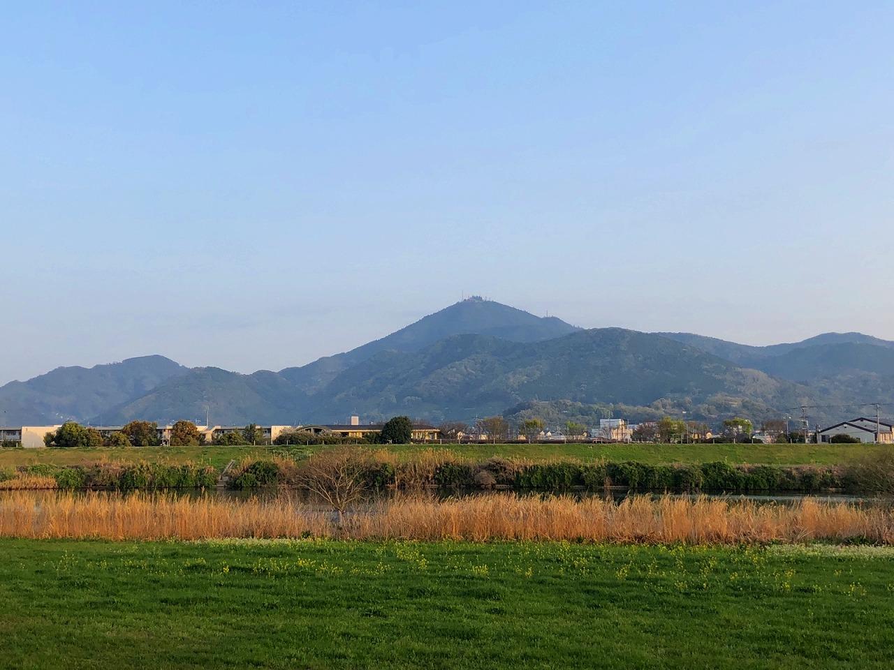 2018年4月2日 今朝の金峰山です。