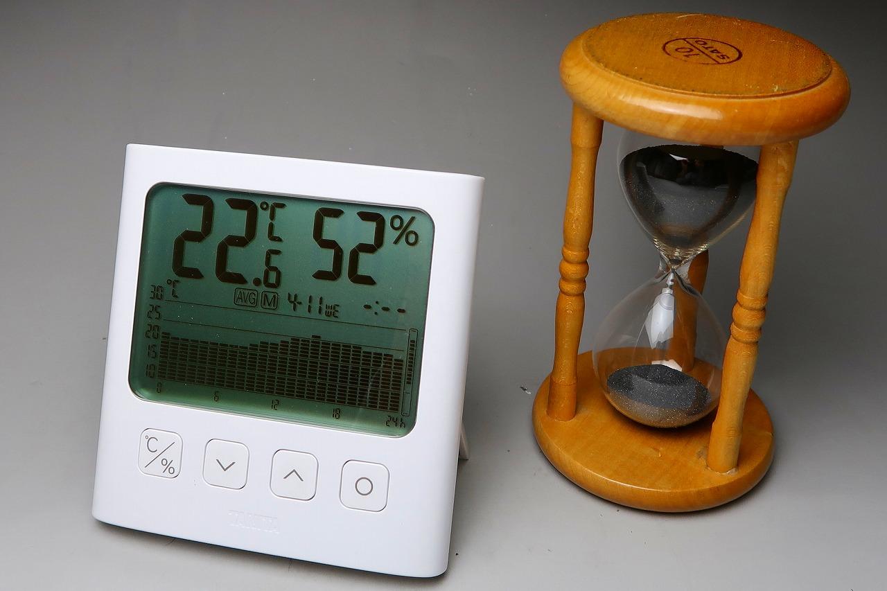 2018/4/11はかりや店内の温度変化