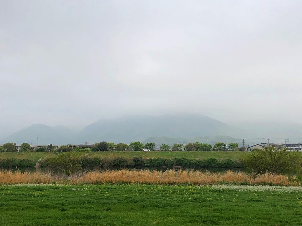 2018年4月12日今朝の金峰山です。