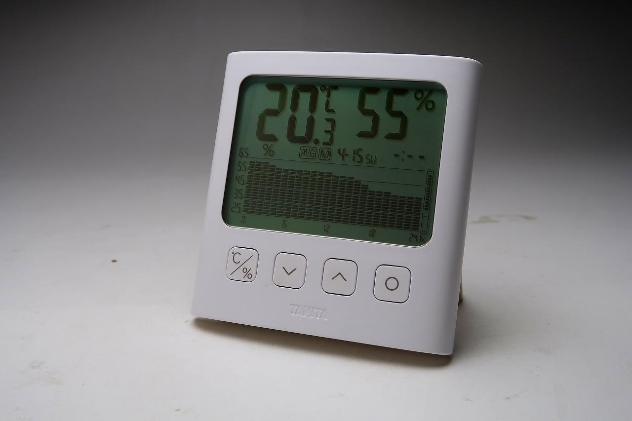 湿度が見えるデジタル温湿度計 TT-581,TT-580
