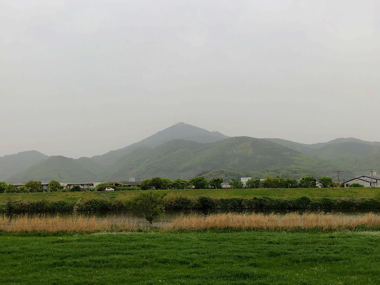 2018.4.17今朝の金峰山です。