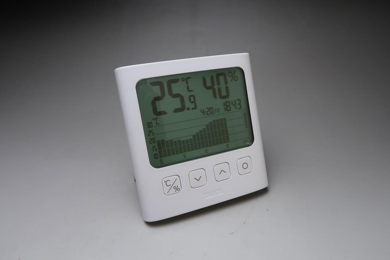 TT-581 グラフ付きデジタル温湿度計