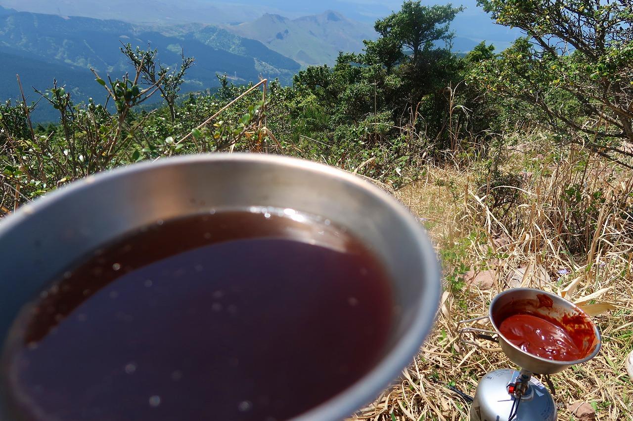 俵山でコーヒー