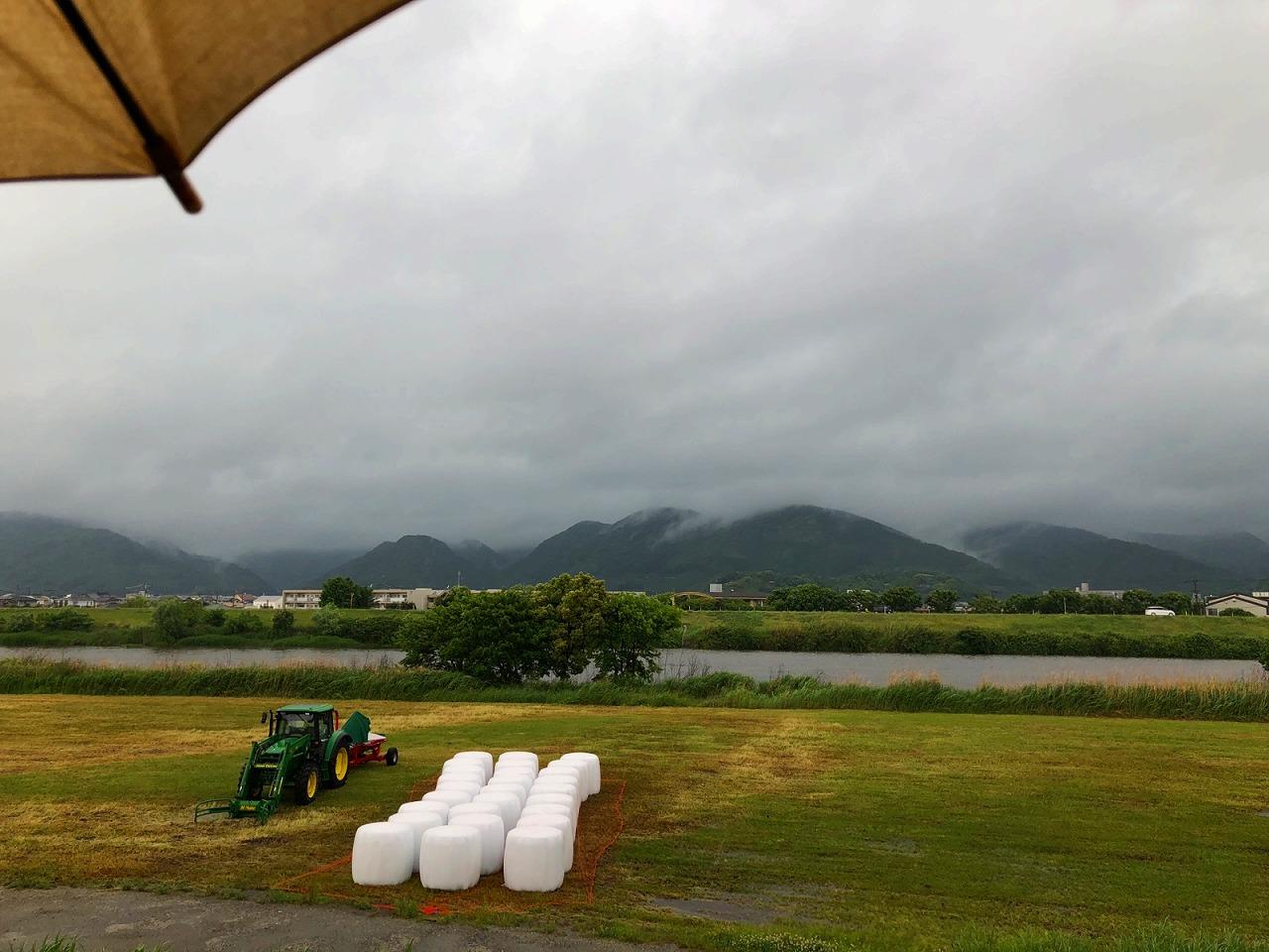 2018.5.7 今朝の金峰山です。