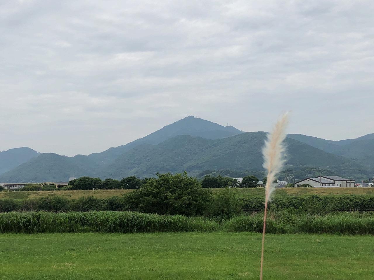 2018.0525今朝の金峰山です。