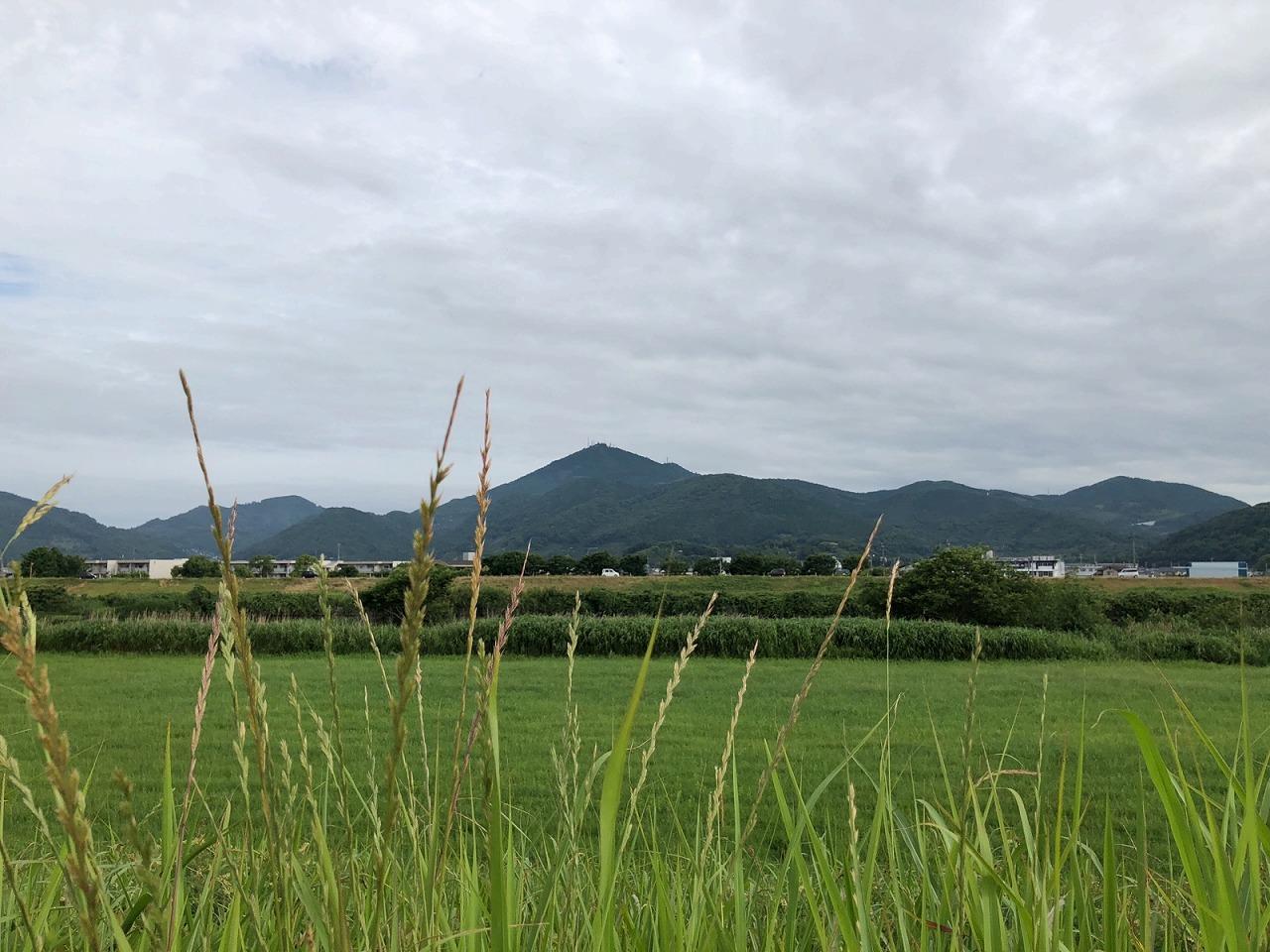 2018.5.29今朝の金峰山です。