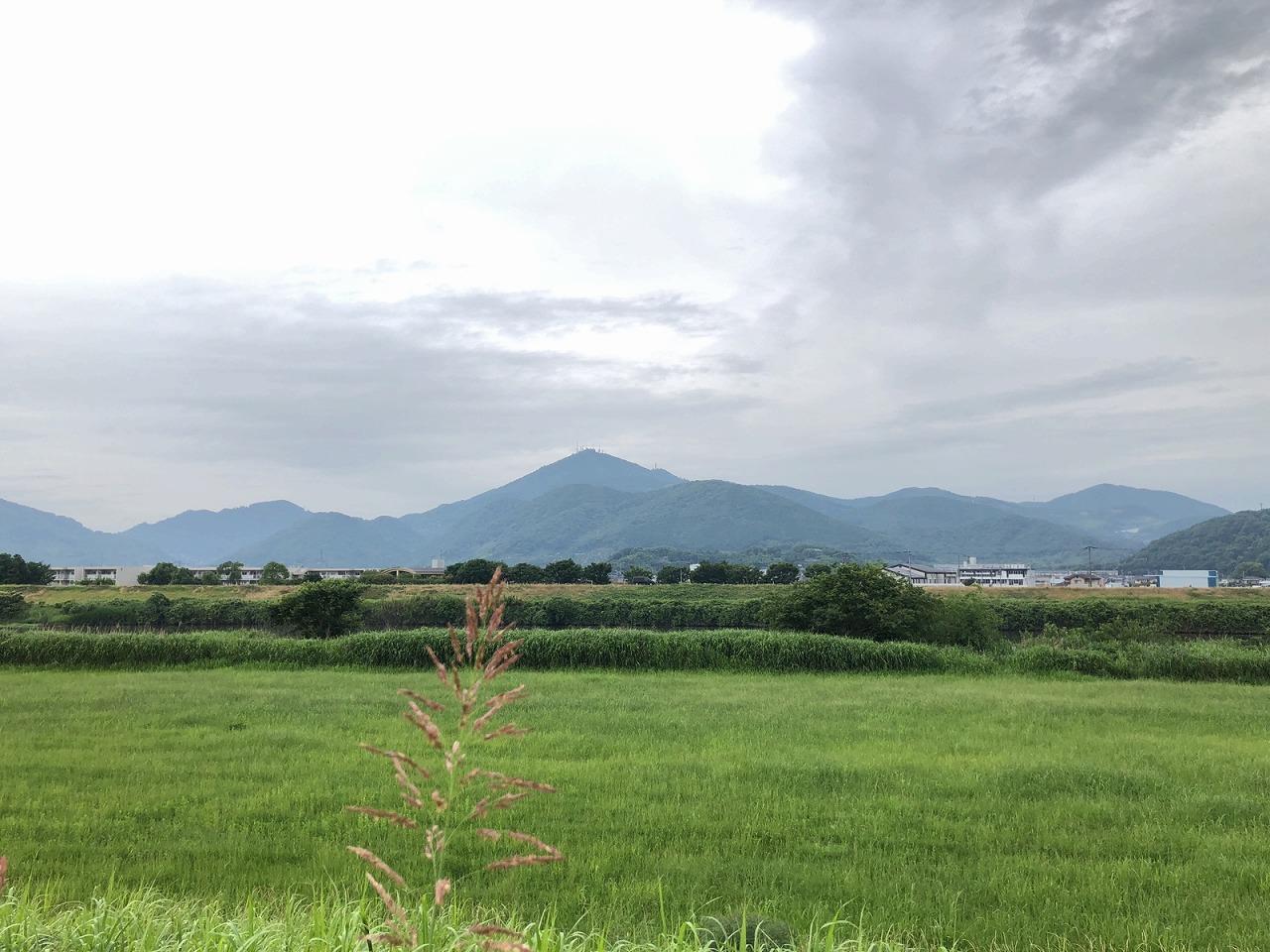2018.6.5 今朝の金峰山です。