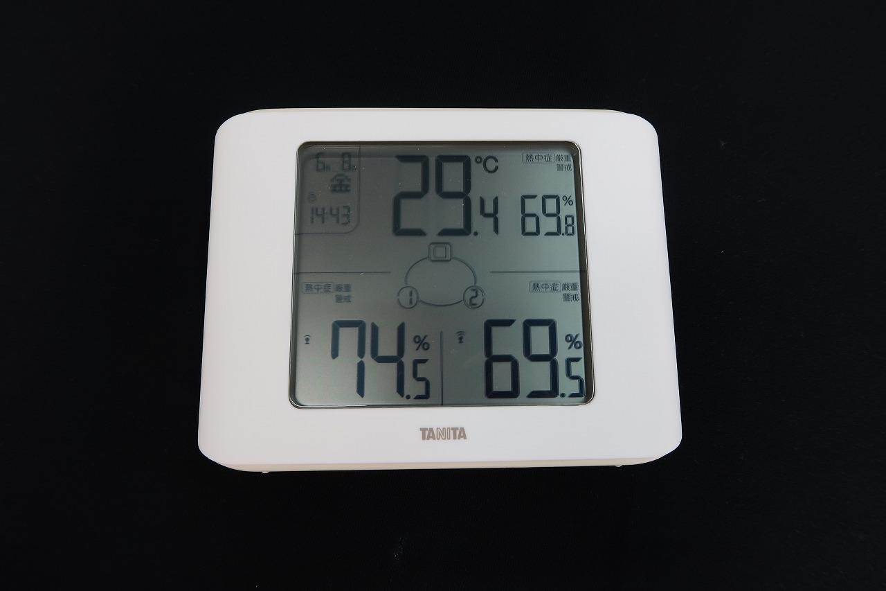 TC-400 コンディションセンサー 無線温湿度計 はかりや