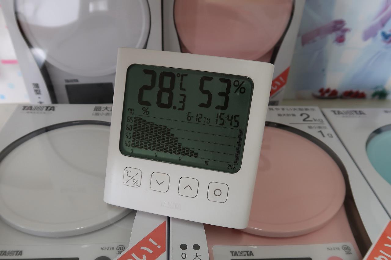 TT-581 グラフ付きデジタル温湿度計タニタ