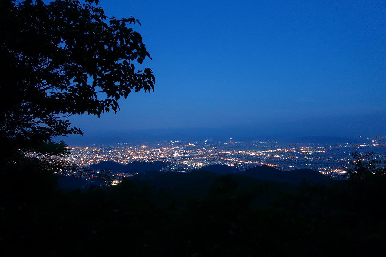 金峰山から夜景