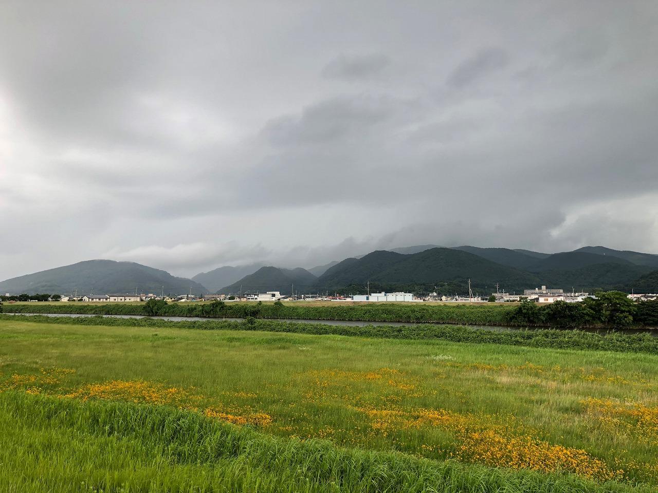 2018.6.29 今朝の金峰山です。