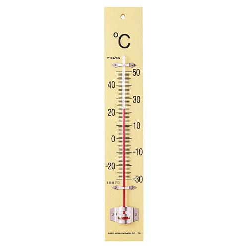 板付温度計