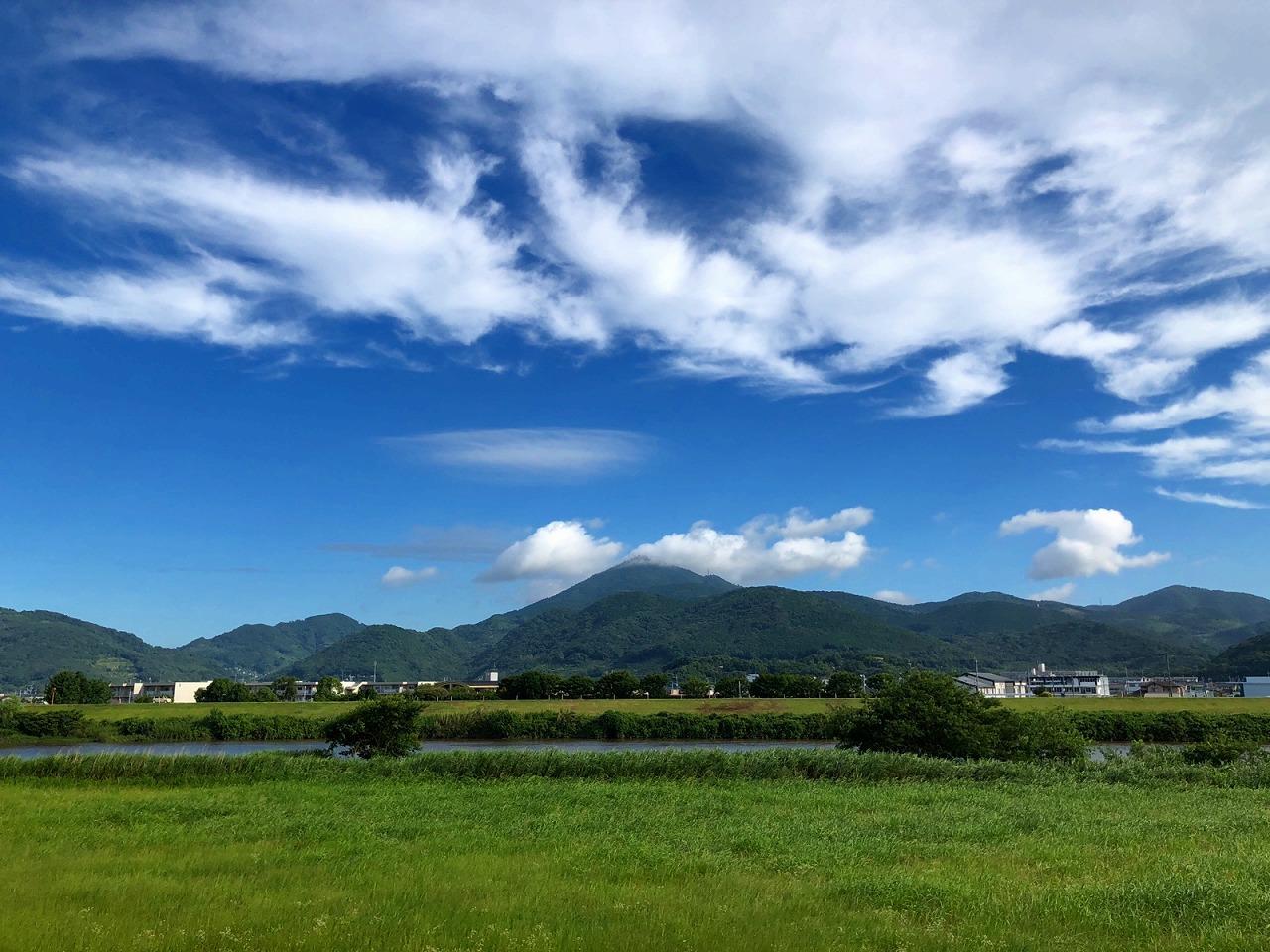 2018.7.4台風明けの今朝の金峰山