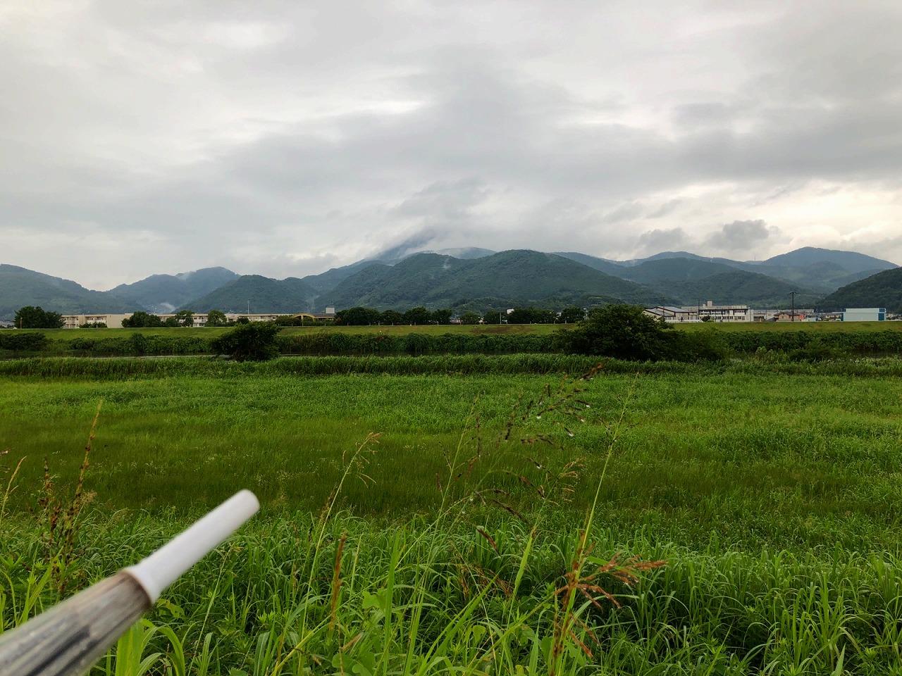 2018.7.6 今朝の金峰山
