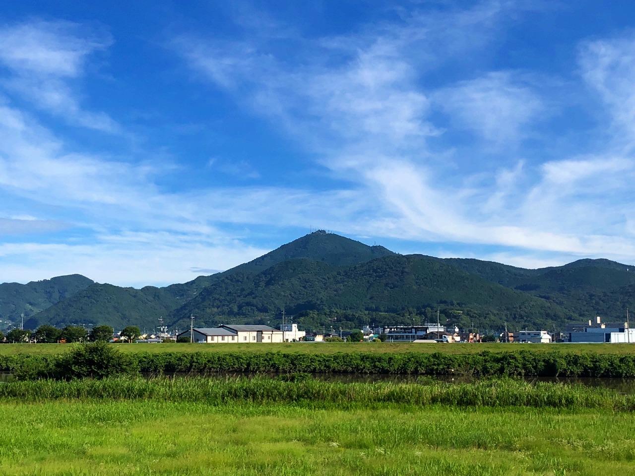 2018.7.9今朝の金峰山です。