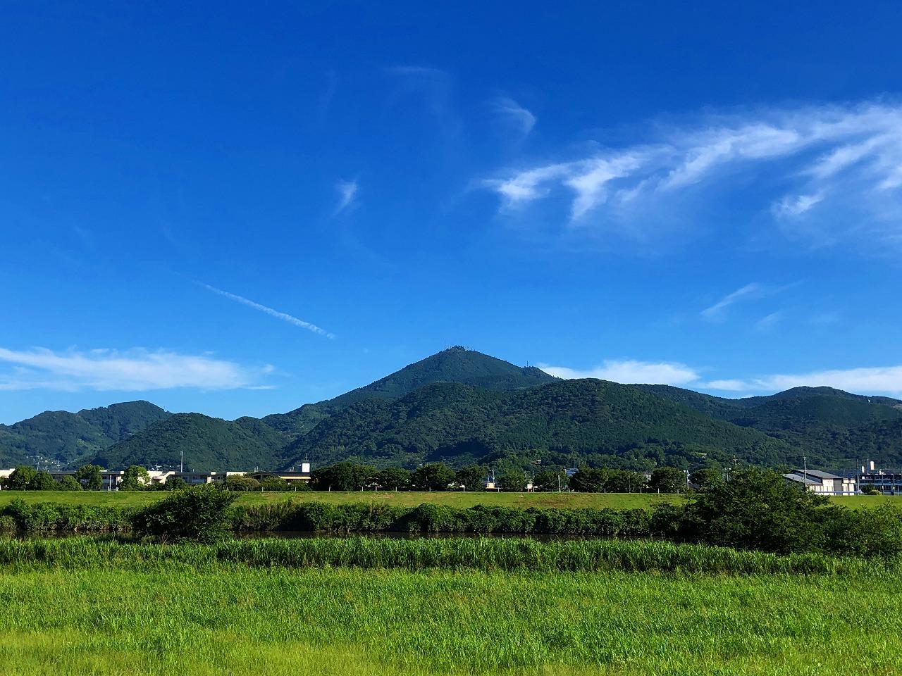 2018.7.10今朝の金峰山です。