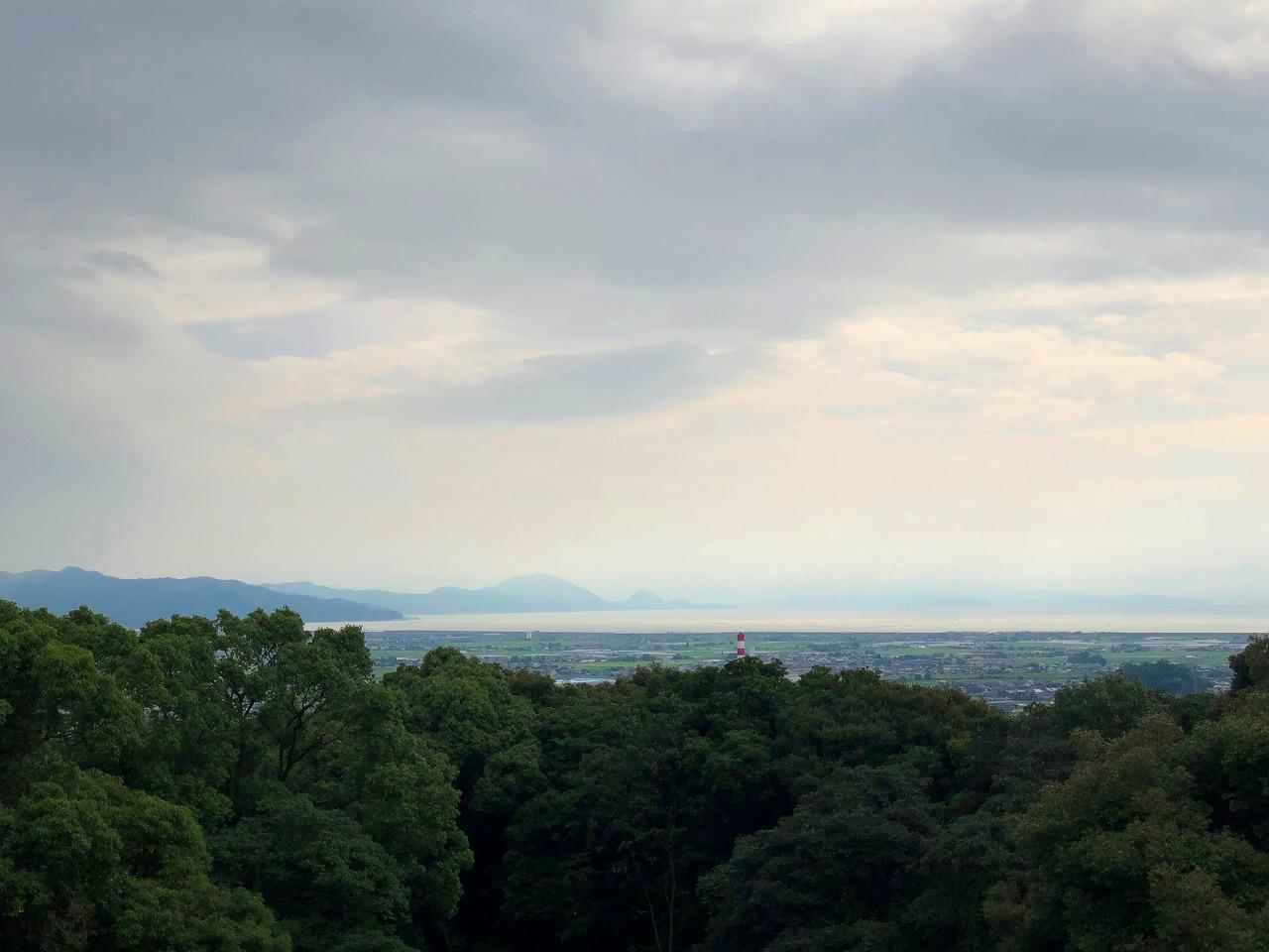 どっこ山からの眺め
