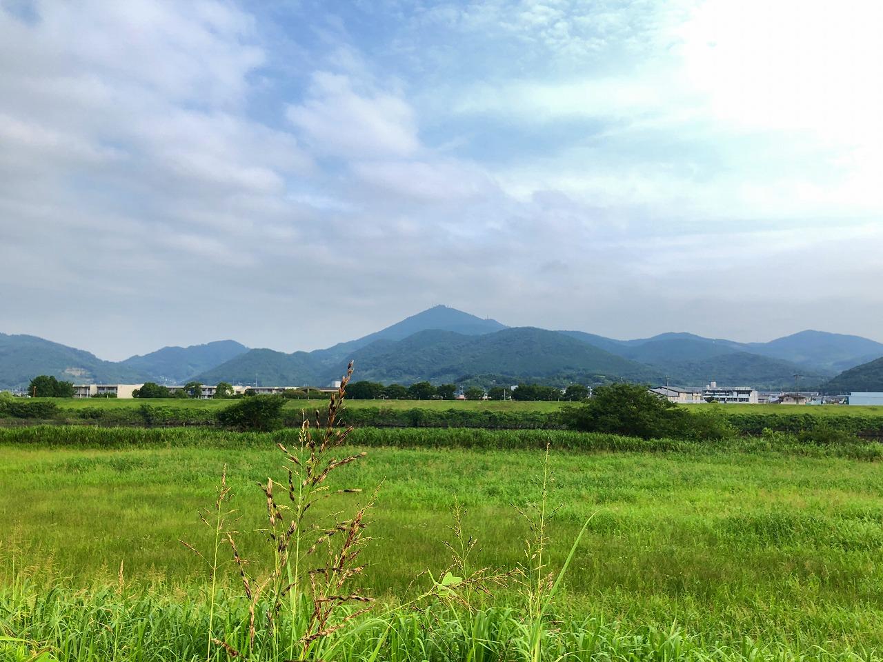 2018.7.12 今朝の金峰山は、くもり!