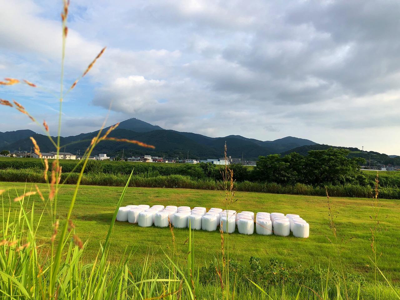 2018.7.23今朝の金峰山です。