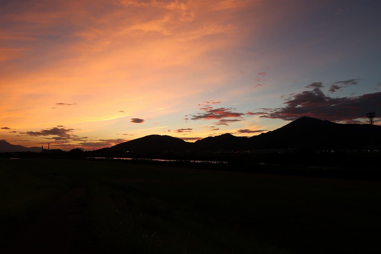 2018.7.21夕焼け金峰山