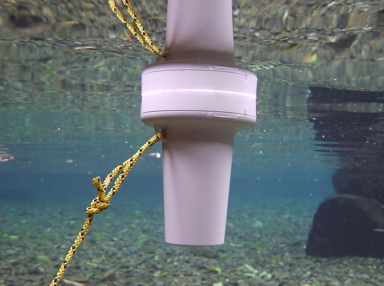 スマホ対応水温計