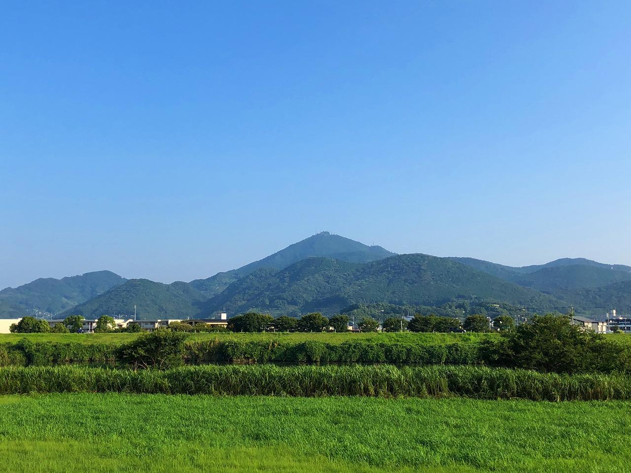 2018.8.3今朝の金峰山