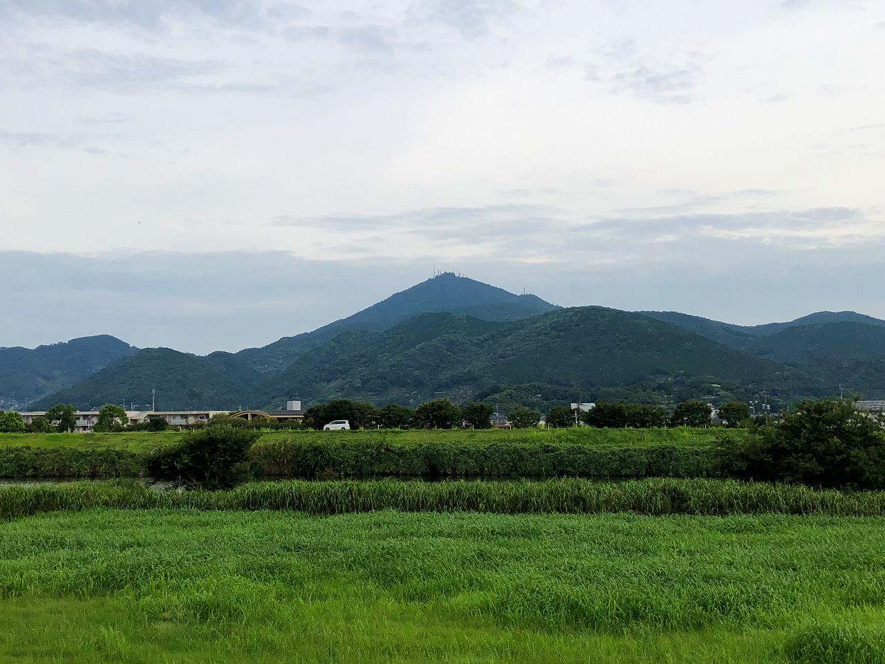 2018.8.17今朝の金峰山です。