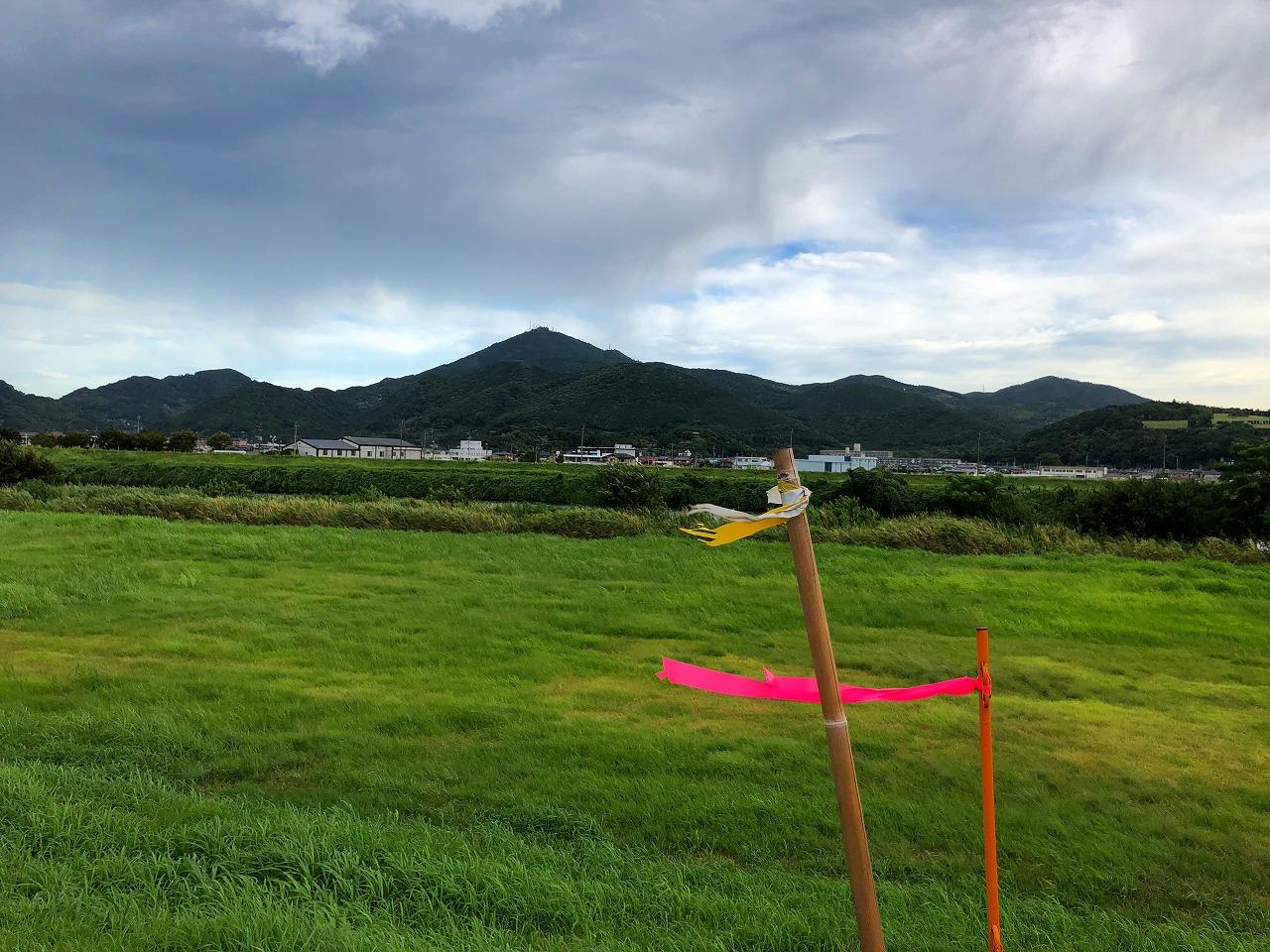 2018.8.22今朝の金峰山です