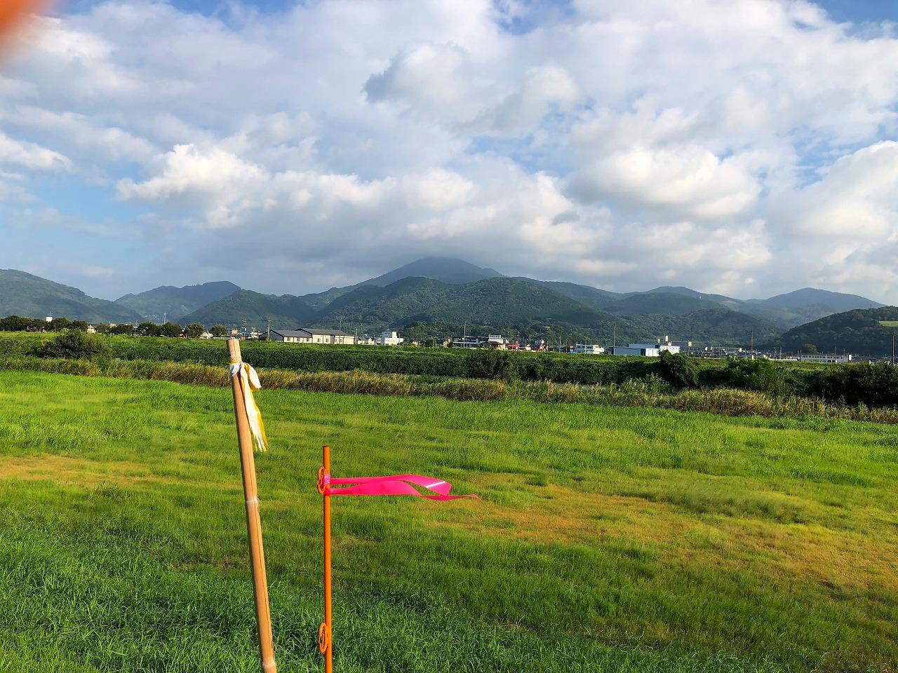2018.8.24今朝の金峰山です。