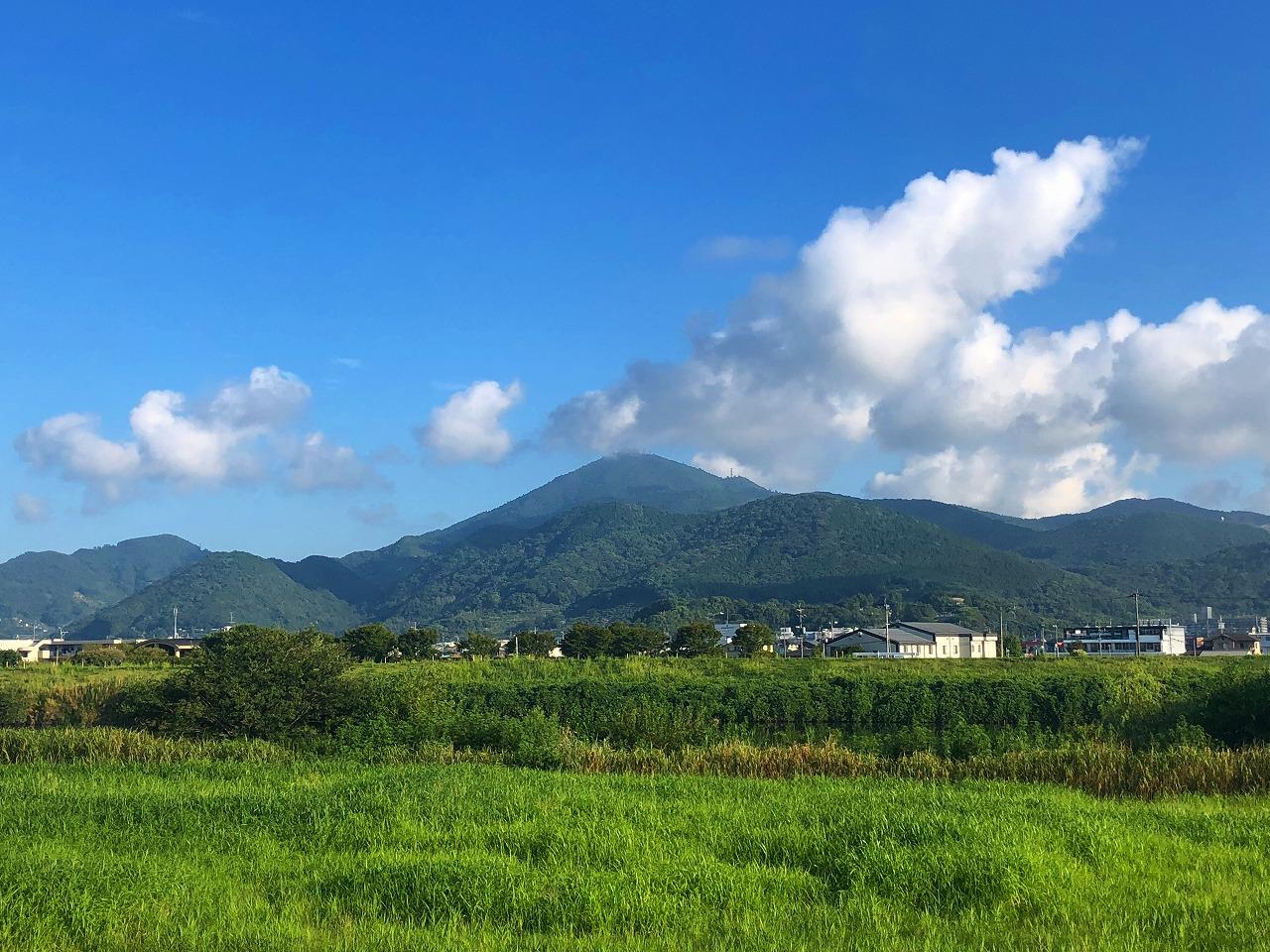 2018.8.28今朝の金峰山です。